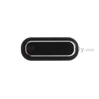 For Samsung Galaxy Mega 5.8 I9152 Home Button  Replacement - Black - Grade S+