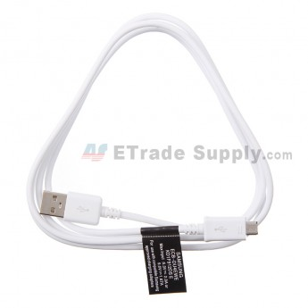 For Samsung Galaxy Note 4 Series USB Data Cable Replacement - White - Grade S+