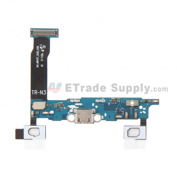 For Samsung Galaxy Note 4 SM-N910T Charging Port Flex Cable Ribbon  Replacement - Grade S+