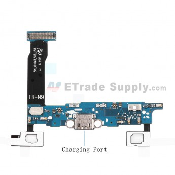 For Samsung Galaxy Note 4 SM-N910W8 Charging Port Flex Cable Ribbon Replacement - Grade S+
