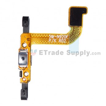 For Samsung Galaxy Note 5 Series Power Button Flex Cable Ribbon Replacement - Grade S+
