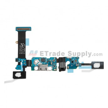For Samsung Galaxy Note 5 SM-N920V Charging Port Flex Cable Ribbon With Sensor Replacement - Grade S+