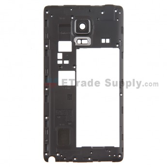 For Samsung Galaxy Note Edge SM-N915 Rear Housing  Replacement - Black - Grade S+