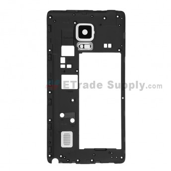 For Samsung Galaxy Note Edge SM-N915 Rear Housing Replacement - White - Grade S+