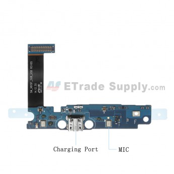 For Samsung Galaxy Note Edge SM-N915F Charging Port Flex Cable Ribbon Replacement - Grade S+