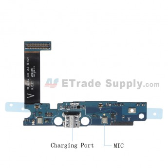 For Samsung Galaxy Note Edge SM-N915V Charging Port Flex Cable Ribbon  Replacement - Grade S+