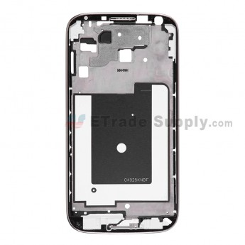 For Samsung Galaxy S4 LTE GT-I9506 Front Housing Replacement - Black - Grade S+