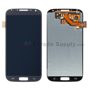 For Samsung Galaxy S4 GT-I9500/I9505/I545/L720/R970/I337/M919/I9502 LCD Screen and Digitizer Assembly Replacement - Black - Without Logo - Grade S