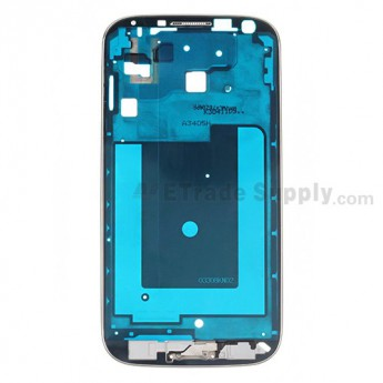 For Samsung Galaxy S4 Value Edition GT-I9515 Front Housing Replacement - Black - Grade S+