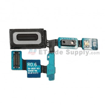 For Samsung Galaxy S6 Edge SM-G925V/G925P/G925R4/G925T/G925W8/G925I/G925F/G925A Ear Speaker Flex Cable Ribbon Replacement - Grade S+