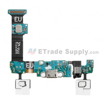 For Samsung Galaxy S6 Edge+ SM-G928F Charging Port Flex Cable Ribbon With Sensor Replacement - Grade S+