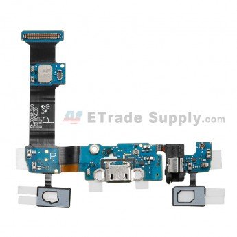 For Samsung Galaxy S6 Edge+ SM-G928P Charging Port Flex Cable Ribbon With Sensor Replacement - Grade S+