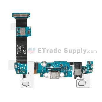 For Samsung Galaxy S6 Edge+ SM-G928T Charging Port Flex Cable Ribbon With Sensor Replacement - Grade S+