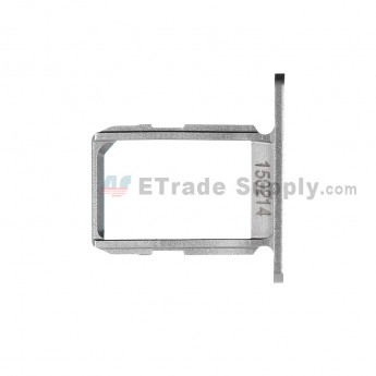 For Samsung Galaxy S6 SM-G920/G920A/G920P/G920R4/G920T/G920F/G920V SIM Card Tray Replacement - White - Grade S+