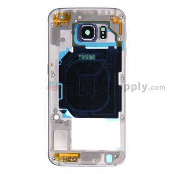 For Samsung Galaxy S6 SM-G920F Rear Housing Replacement - Sapphire - Grade S+