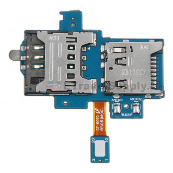 For Samsung Galaxy S Advance I9070 SIM Card and SD Card Reader Contact with Flex Cable Ribbon Replacement - Grade S+