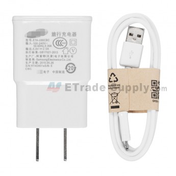 For Samsung Galaxy S III (S3) Series Charger and USB Data Cable Replacement - Grade S+