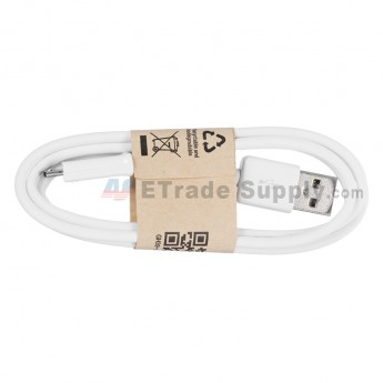 For Samsung Galaxy S III (S3) Series USB Data Cable Replacement - White - Grade R