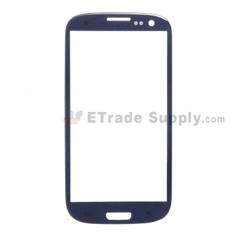 For Samsung Galaxy S III GT-I9300/I9305/T999/I747/R530/I535/L710 Glass Lens Replacement - Sapphire - Without Any Logo - Grade R