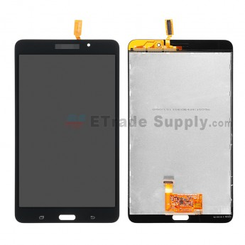 For Samsung Galaxy Tab 4 7.0 Samsung-T230 LCD Screen and Digitizer Assembly Replacement - Black - Grade S+