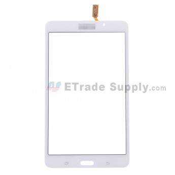 For Samsung Galaxy Tab 4 7.0 SM-T230 Digitizer Touch Screen Replacement - White - With Logo - Grade S+
