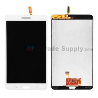 For Samsung Galaxy Tab 4 7.0 Samsung-T230 LCD Screen and Digitizer Assembly Replacement - White - Grade S+