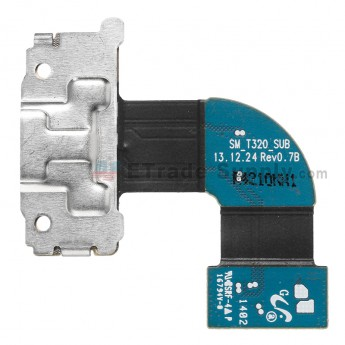 For Samsung Galaxy Tab Pro 8.4 SM-T320 Charging Port Flex Cable Ribbon Replacement - Grade S+