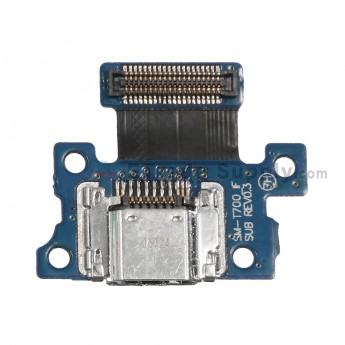 For Samsung Galaxy Tab S 8.4 SM-T700 Charging Port Flex Cable Ribbon Replacement - Grade S+