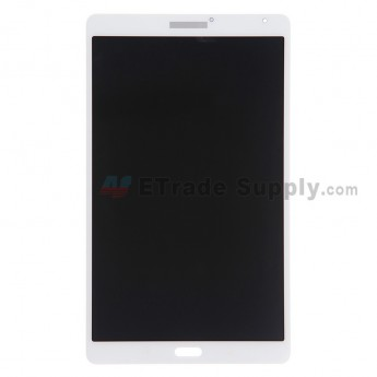 For Samsung Galaxy Tab S 8.4 Samsung-T700 LCD Screen and Digitizer Assembly Replacement - White - With Logo - Grade S+