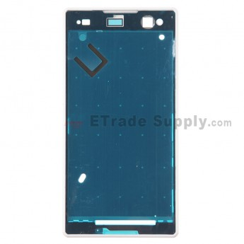 For Sony Xperia C3 Front Housing Replacement - White - Grade S+