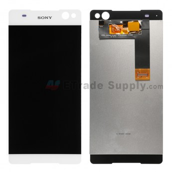 For Sony Xperia C5 Ultra LCD Screen and Digitizer Assembly Replacement - White - Grade S+