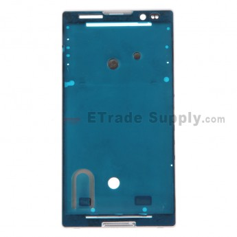 For Sony Xperia C S39h Front Housing Replacement - White - Grade S+