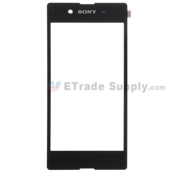 For Sony Xperia E3 Digitizer Touch Screen Replacement - Black - With Logo - Grade S+