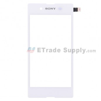 For Sony Xperia E3 Digitizer Touch Screen Replacement - White - With Logo - Grade S+