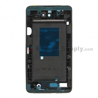 For Sony Xperia E4 Middle Plate Assembly Replacement - Black - Grade S+
