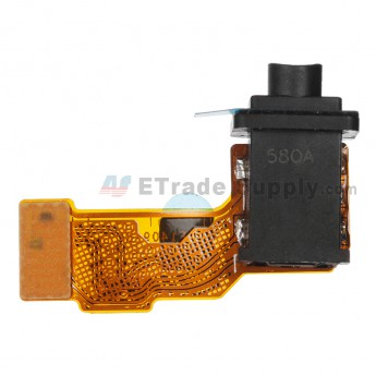 For Sony Xperia M5 Earphone Jack Flex Cable Ribbon Replacement - Grade S+