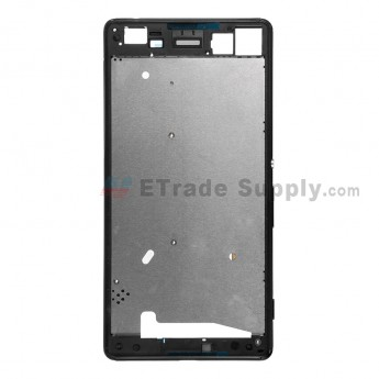 For Sony Xperia M5 Front Housing Replacement - Black - Grade S+