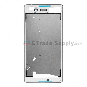 For Sony Xperia M5 Front Housing Replacement - White - Grade S+