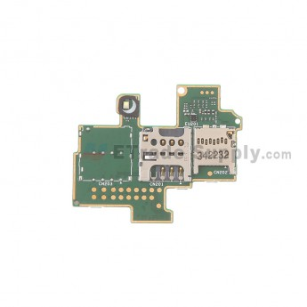 For Sony Xperia M C1905 SIM Card and SD Card Reader Contact  Replacement - Grade S+