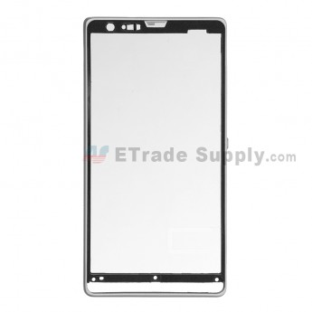 For Sony Xperia SP M35h Front Housing Replacement - White - Grade S+