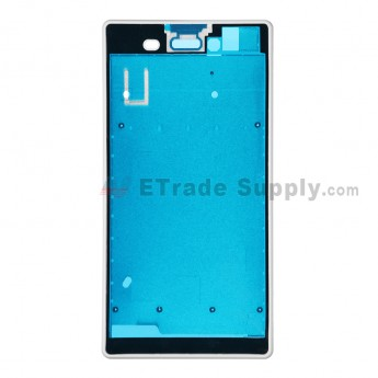 For Sony Xperia T3 Front Housing Replacement - White - Grade S+