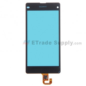 For Sony Xperia Z1 Compact Digitizer Touch Screen Replacement - Black - Grade R