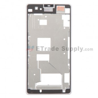 For Sony Xperia Z1 Compact Front Housing Replacement - White - Grade S+