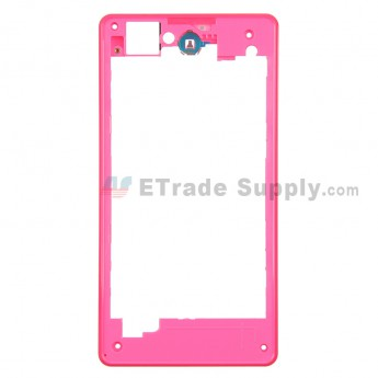 For Sony Xperia Z1 Compact Rear Housing Replacement - Pink - Grade S+
