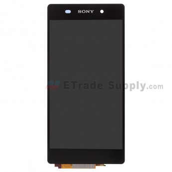 For Sony Xperia Z2 LCD Screen and Digitizer Assembly Replacement - Black - Grade S