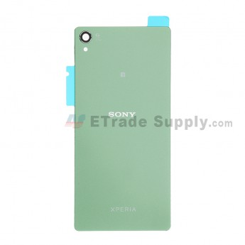 For Sony Xperia Z3 Battery Door Replacement - Green - Grade S+