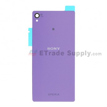 For Sony Xperia Z3 Battery Door Replacement - Purple - Grade S+