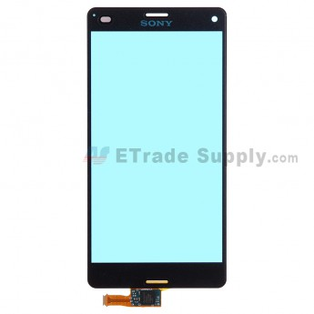 For Sony Xperia Z3 Compact Digitizer Touch Screen Replacement - Black - Grade R