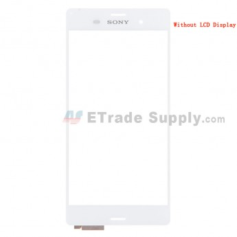 For Sony Xperia Z3 Digitizer Touch Screen Replacement - White - With Logo - Grade S+