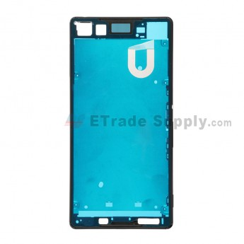 For Sony Xperia Z3+ Front Housing  Replacement - Black - Grade S+
